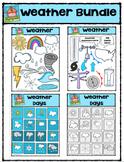 Weather Bundle  (P4 Clips Trioriginals Digital Clip Art)