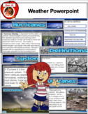 Weather Bundle - Powerpoint, SMARTboard File and PDF File 100+ Slides and Pages