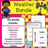 Weather Bundle – Upper Elementary – No Prep, Print, & Go
