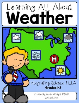 Learning About Weather {Integrated Resources for Grades 1-3}