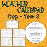 Weather Calendar Booklet