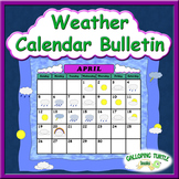Weather Calendar Bulletin