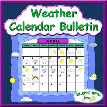 Weather Calendar Bulletin
