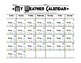 Weather Calendar Chart and Predictions