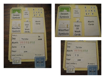 Weather Calendar Chart for Morning Meetings