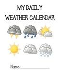 Weather Calendar- Entry Activity