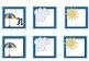 Weather Calendar Pieces- Perfect for April
