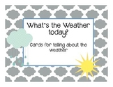 Weather Cards- English!