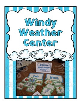 Weather Center {Freebie}