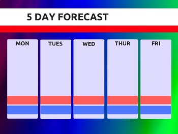 Weather Center Poster