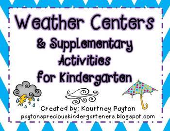 Weather Centers & Supplementary Activities