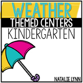 Weather Centers for Kindergarten