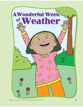 Weather Changes Day to Day: Circle-Time Book