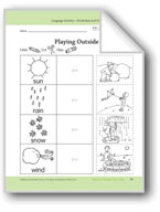 Weather Changes Day to Day: Language and Math Activities