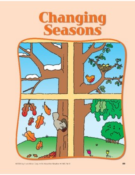 Weather Changes Season to Season: Circle-Time Book
