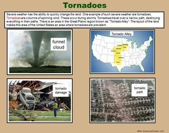 Weather Changing the Earth -  A Fourth Grade PowerPoint Introduction
