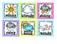 Weather Chart - Editable