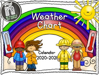 Weather Chart - Calendar - Tracking Weather - 2017-2018