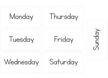 Weather Chart - Classroom Decor