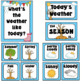 Weather Chart- Editable Weather Cards