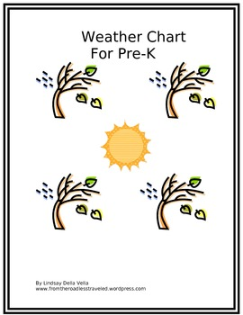 Weather Chart For Pre-K