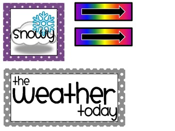 Weather Chart Freebie