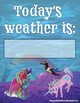 Weather Chart: Giddy-Up Fairytale Cowgirl
