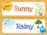 Weather Chart Printable