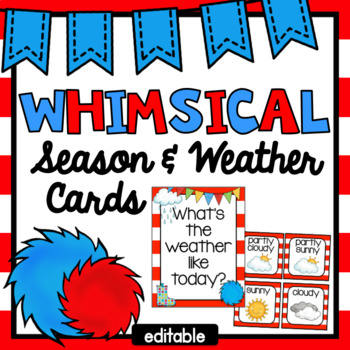 Whimsical Weather Cards
