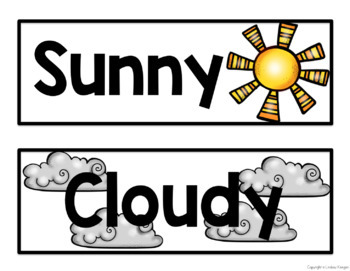 Weather Chart and Graph FREEBIE!