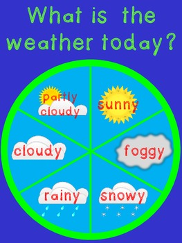 Weather Chart for Primary Grades