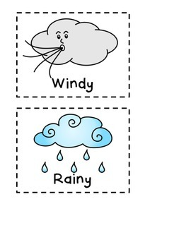 Weather Chart for the Primary Grades