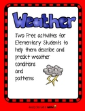 Weather Charts for Elementary Students