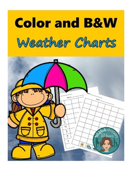 Weather Charts in Color and Black and White
