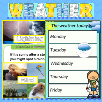 Weather Classroom Display Pack