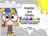 Weather & Climate: Foldables {A Foldable for a Science Journal}