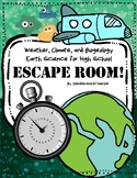 Weather & Climate NGSS Escape Room