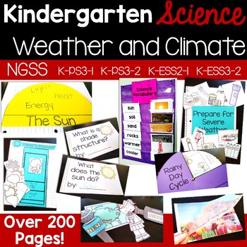 Weather & Climate {aligns to NGSS K-PS3-1, K-PS3-2, K-ESS2-1, K-ESS3-2}