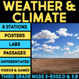 Weather & Climate Science Stations BUNDLE