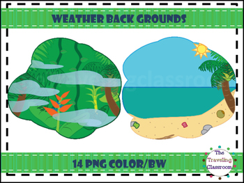 Weather & Season Background Clip Art