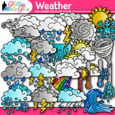 Weather Clip Art: Climate, Erosion, & Water Cycle Graphics {Glitter Meets Glue}