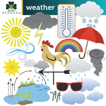 Weather / Water Cycle Clip Art