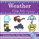 Weather Clip Art Sample