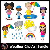 Weather Clip Art BUNDLE