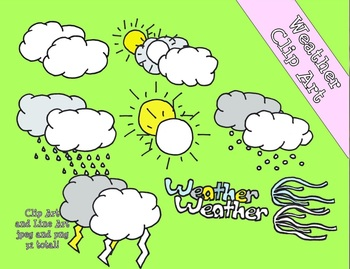 Weather Clip Art Bundle