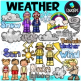 Weather Clip Art Bundle {Educlips Clipart}
