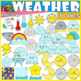 Weather Clip Art/ Climate Elements Mega Pack (+175 items)