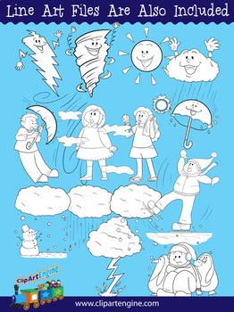 Weather Clip Art Collection