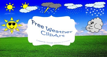 Weather Clip Art FREE!