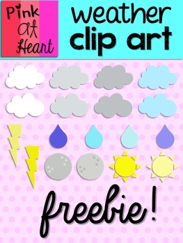 Weather Clip Art FREEBIE